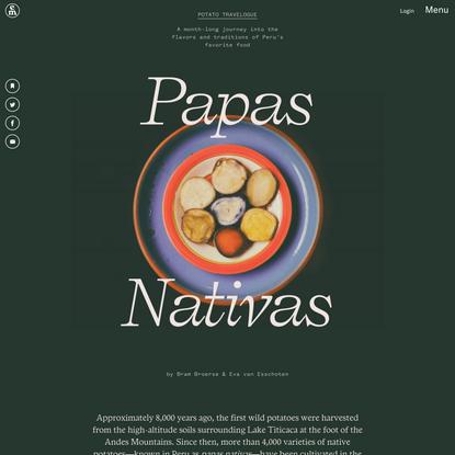 Papas Nativas –Emergence Magazine