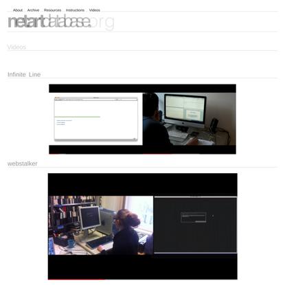— net.artdatabase