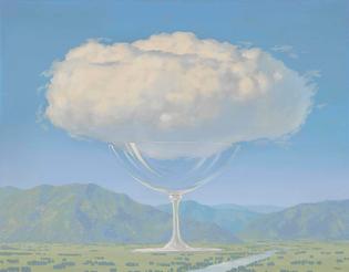 René Magritte, La corde sensible, 1960