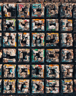 """""""Check out this incredible drone photo of Athens, Greece. As the capital and largest city in the country, it's metropolitan area is home to 3.7 million residents. This shot captures the grid plan of the Gyzi area."""""""