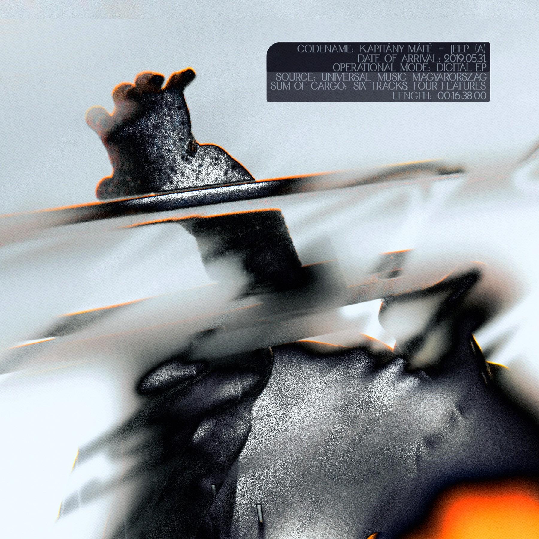 Kapitány Máté - Jeep EP cover (2019) - Nufolklore
