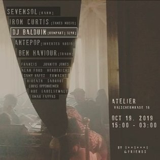 Dj Balduin @ This Is Not...A Party - ADE 2019 by This Is Not...