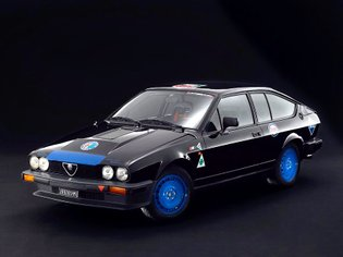 Alfa Romeo Racing Beast . This is our special Alfa Romeo GTV6 pre-series, chassis number 00001015, part of the Squadra Corse...