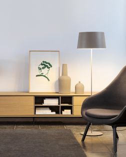 Warm 4906 Floor Lamp, Vibia
