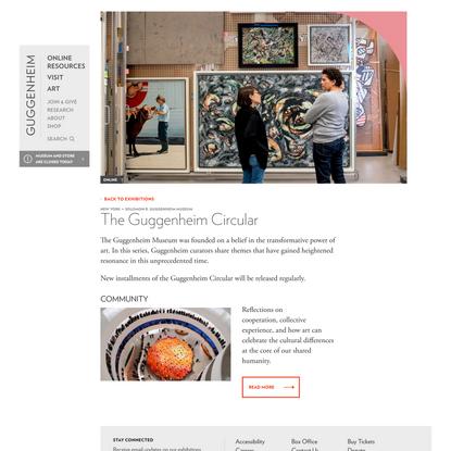 The Guggenheim Circular