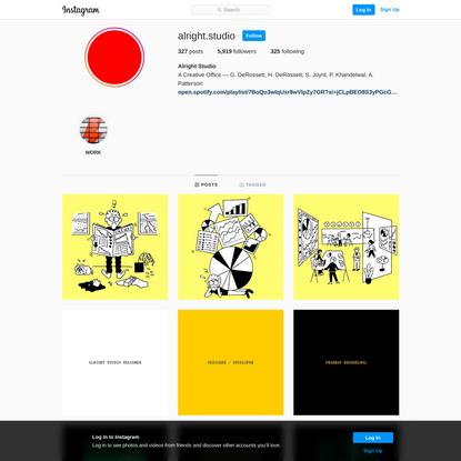 Alright Studio (@alright.studio) • Instagram photos and videos