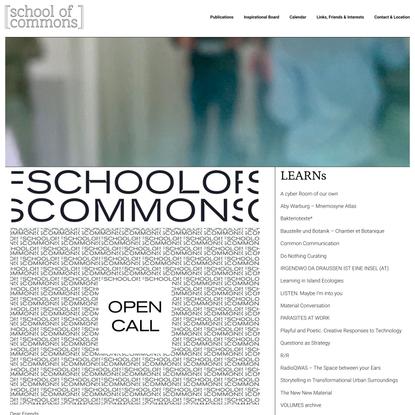 School Of Commons