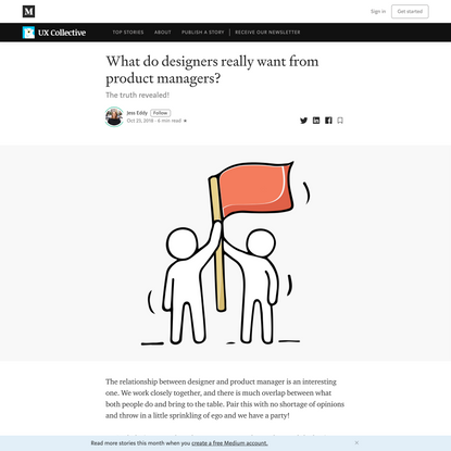 What do designers really want from product managers?