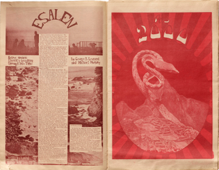 Spread from The San Francisco Oracle, No. 12, 1968.