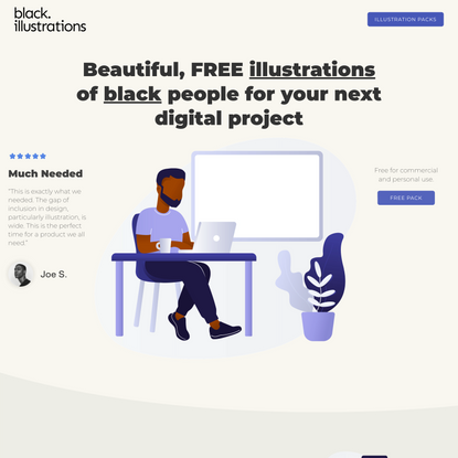 Illustrations of Black People for Your Next Digital Project   Black Illustrations