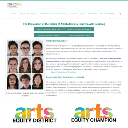 Declaration of Student Rights – new | createCA