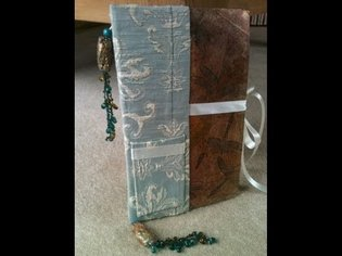 Book Binding: How to make a journal (Part 1 - Sewing the signitures)