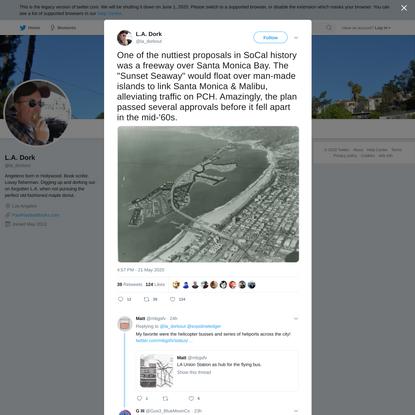 L.A. Dork on Twitter