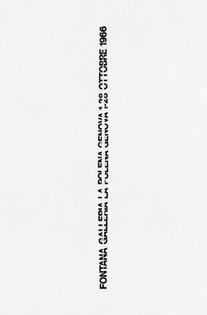 AG Fronzoni - Fontana Poster, 1966