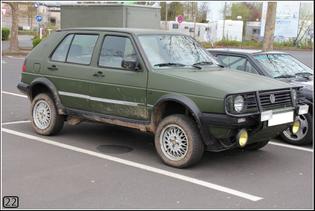 VW Golf Mk3 Cross Country
