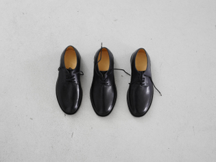 Shoes made for someone with three feet by a master shoemaker in Berlin (2015)