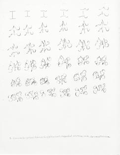 Kinesthetic Drawing (I), 1974