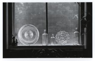 Arthur P. Mange - Barbara's kitchen window, 1990