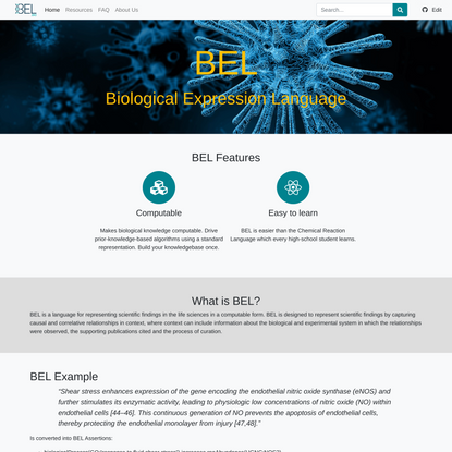 BEL.bio · BEL.bio