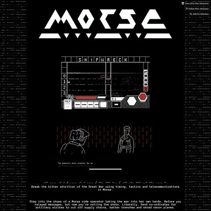 MORSE by Alex Johansson