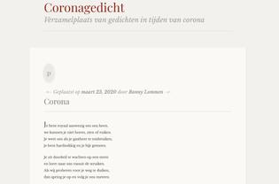 Coronagedicht.nl