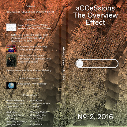 Issue 2: The Overview Effect