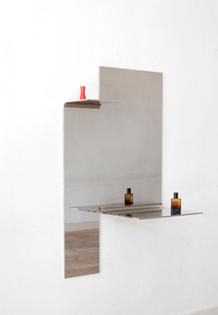 Muller Van Severen - Bended Mirror Klein