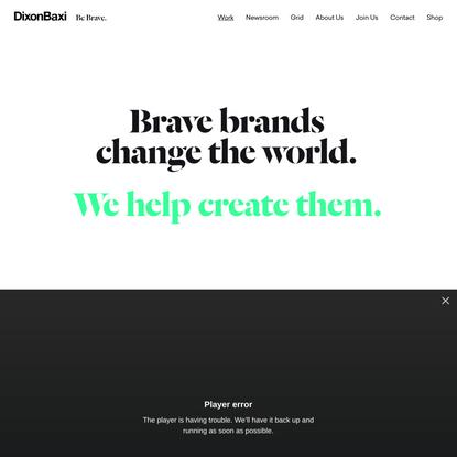 DixonBaxi   Brand and Design Consultancy