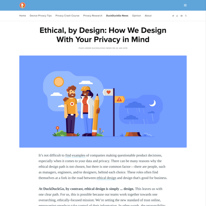 Ethical, by design.