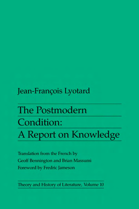 [theory-and-history-of-literature]-jean-francois-lyotard-postmodern-condition-the-postmodern-condition_-a-report-on-knowledg...