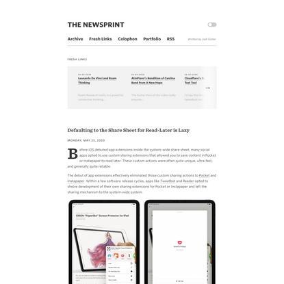 The Newsprint