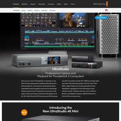 UltraStudio | Blackmagic Design