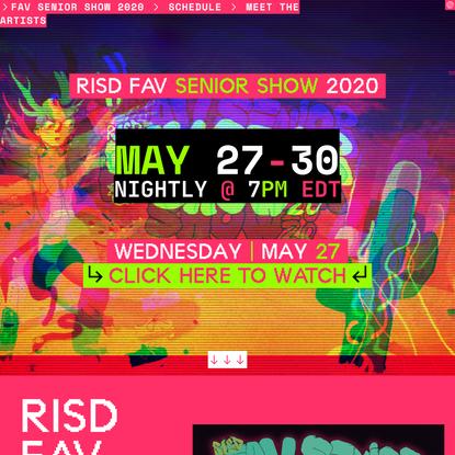 RISD FAV Senior Show