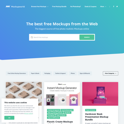 Mockup World   The best free Mockups from the Web