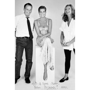 Atelier Versace on princess Diana