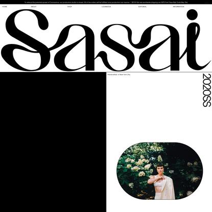 SASAI JEWELRY