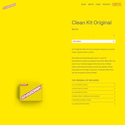 Clean Kit Original