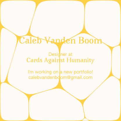Caleb Vanden Boom