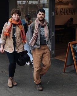 Wrapped in tassels. #meninthistown #sydney #menswear #streetstyle #streetwear #streetphotography