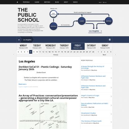 Los Angeles   The Public School