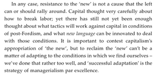 Fisher, Capitalist Realism