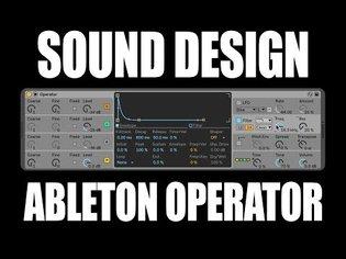 Operator Sound Design