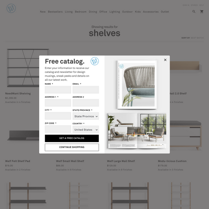 """Showing results for """"shelves"""""""