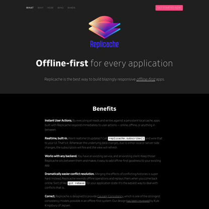 Easy Offline-First for Existing Applications