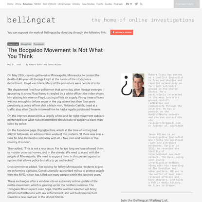 The Boogaloo Movement Is Not What You Think - bellingcat