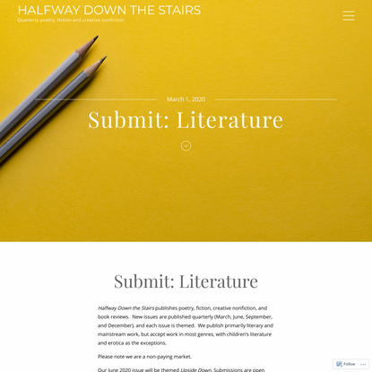 Submit: Literature