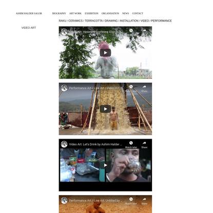 VIDEO ART - ASHIM HALDER SAGOR