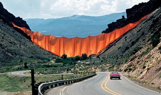 Valley Curtain, Christo
