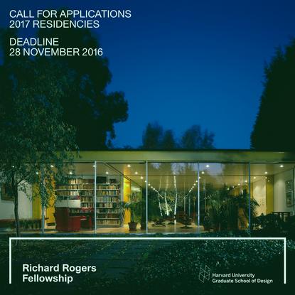 Richard Rogers Fellowship