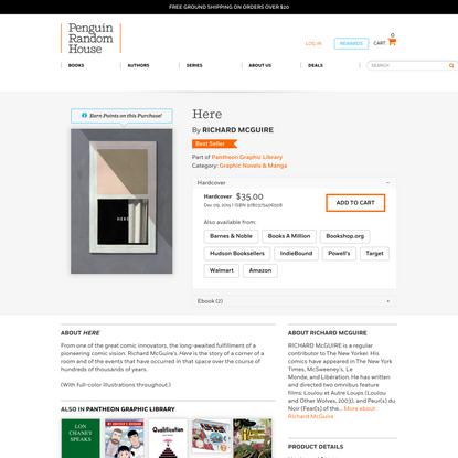 Here by Richard McGuire: 9780375406508 | PenguinRandomHouse.com: Books